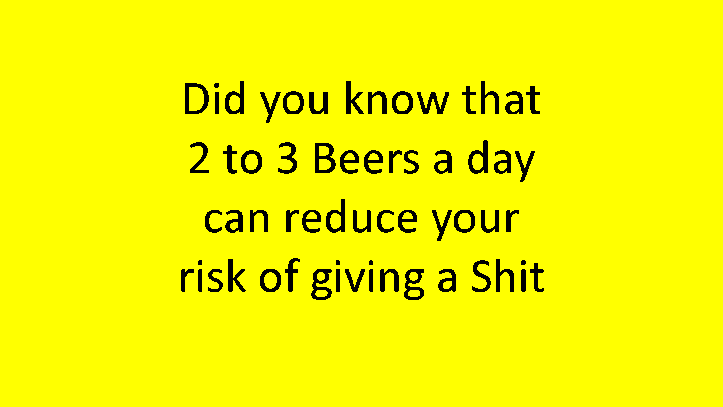 2 to 3 Beers